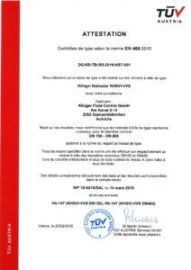 thumbnail of Certification KHSVI VVS selon EN488 2015