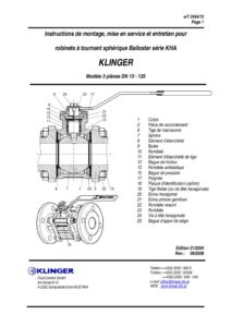 thumbnail of KLINGER BALLOSTAR KHA-instructions 1