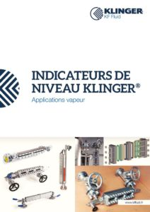 thumbnail of KLINGER INDICATEURS DE NIVEAU-catalogue 2