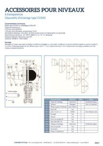 thumbnail of KLINGER INDICATEURS DE NIVEAU-fiche technique-accessoires 1
